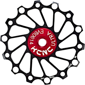 KCNC Jockey Wheel Ceramic Bearing Narrow Wide 14 tänder black